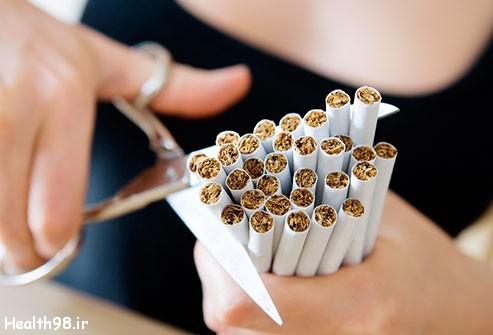 اثرات ترک سیگار بر بدن