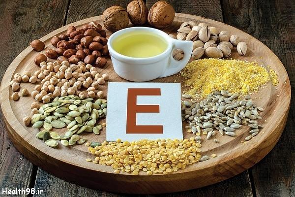 اهمیت مصرف ویتامین E