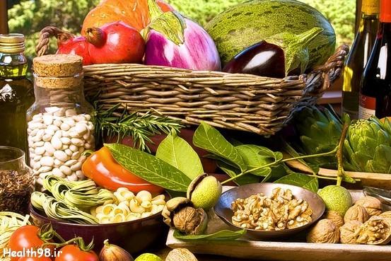 رژیم غذایی مدیترانه ای سالم ترین رژیم غذایی دنیا