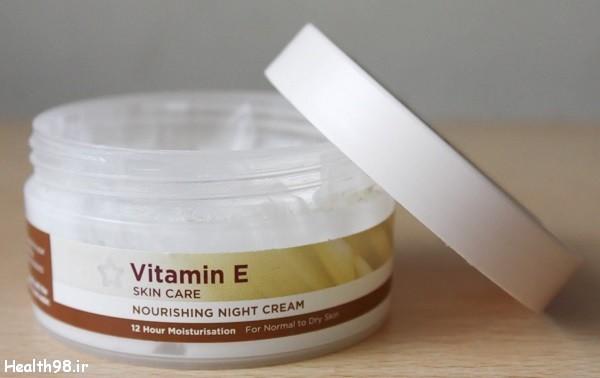 خواص ویتامین E برای پوست