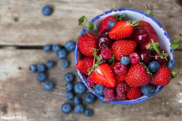 قدرت آنتی اکسیدانی توت فرنگی