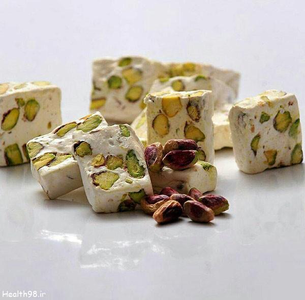 مواد تشکیل دهنده و نحوه تهیه گز اصفهان