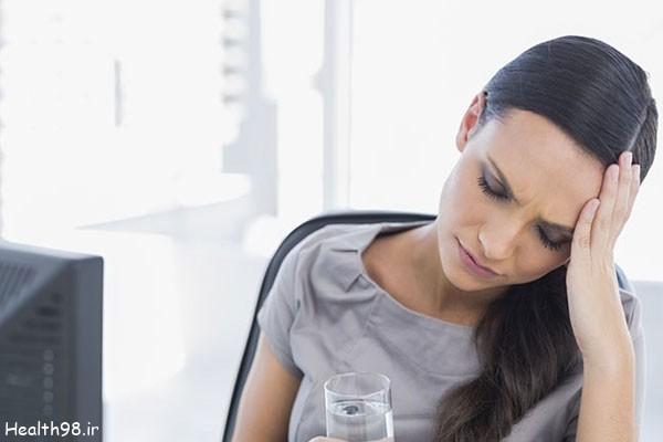 چرا کم آبی باعث سردرد می شود؟