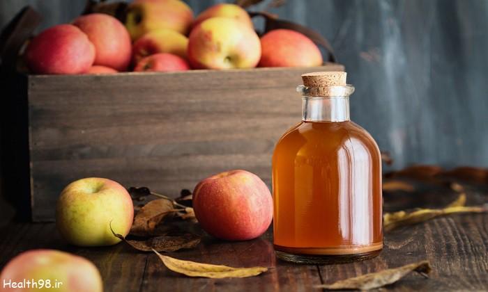 مضرات مصرف بیش از حد سرکه سیب